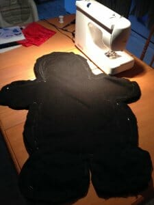 Fabrication de Gloups, le croqueur de cauchemar