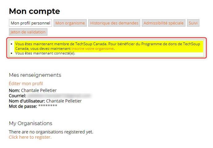 Enregistrer mon organisme à TecShoup - Google Ad Grants pour les OBNL